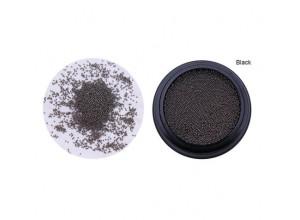 Бульонки черные, металл, 0,6мм