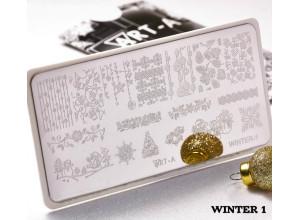 Пластина для стемпинга Art-A Winter1