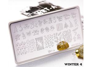 Пластина для стемпинга Art-A Winter4