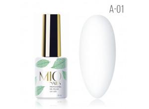 MIO Nails A-01 гель-лак Первый снег. 8мл