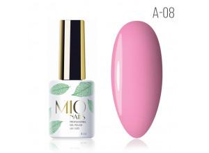 MIO Nails A-08 гель-лак Барби, 8мл