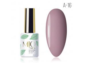 MIO Nails A-16 гель-лак Чайная роза. 8мл