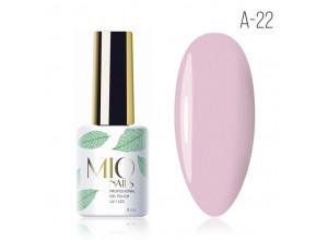 MIO Nails A-22 гель-лак Розовая дымка, 8мл