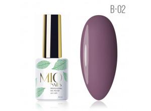 MIO Nails B-02 гель-лак Медленный танец, 8мл
