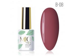 MIO Nails B-08 гель-лак Вишневый сироп, 8мл