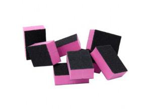 Одноразовые мини-бафики (черно-розовые), 10 шт
