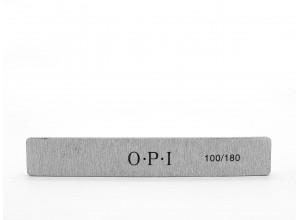 Пилка OPI 100/180 для искусственных ногтей, прямая